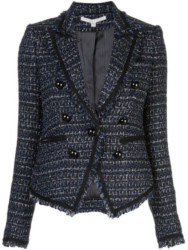 Veronica Beard Cooke Dickey jacket in blue