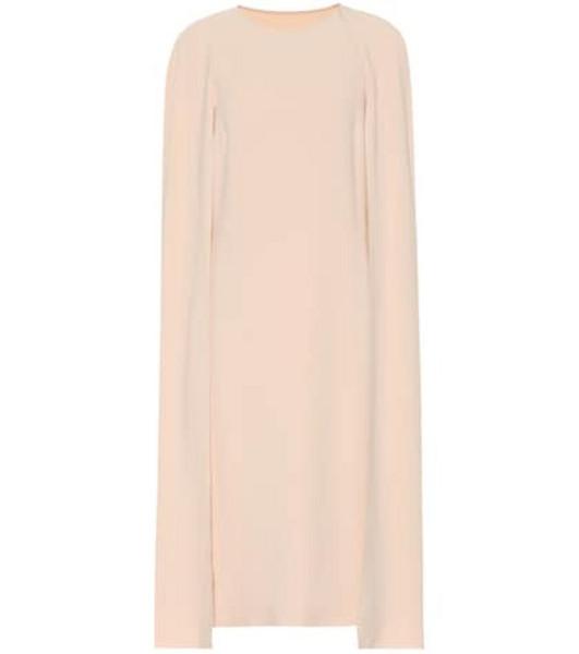 Stella McCartney Cape midi dress in pink