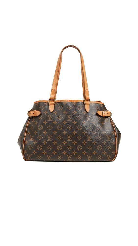 What Goes Around Comes Around Louis Vuitton Monogram Batignolles Horiz Bag in brown