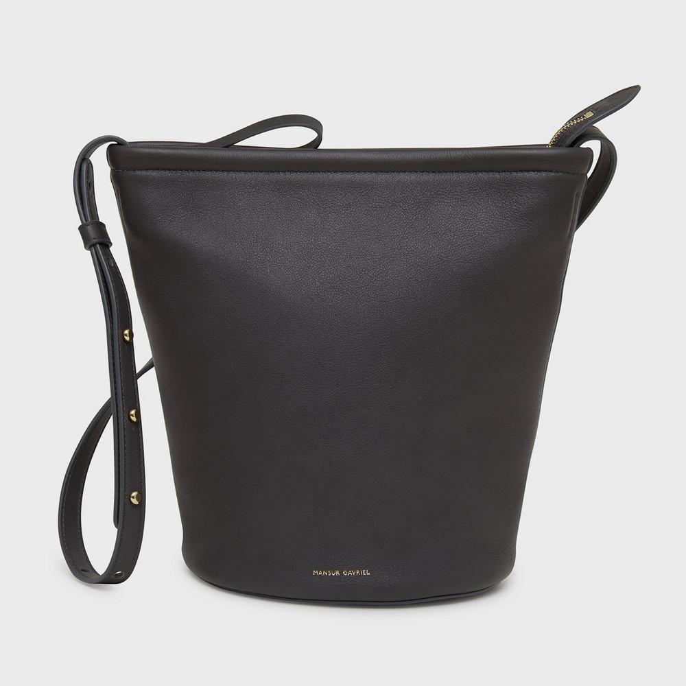 Mansur Gavriel Zip Bucket Bag - Vesuvio