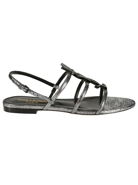 Saint Laurent Strappy Flat Sandals