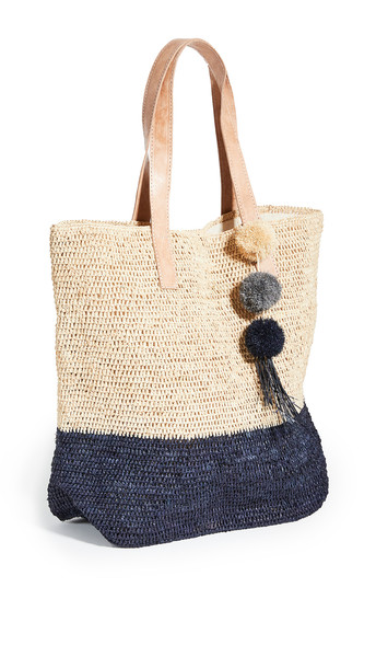 Mar Y Sol Montauk Tote in navy