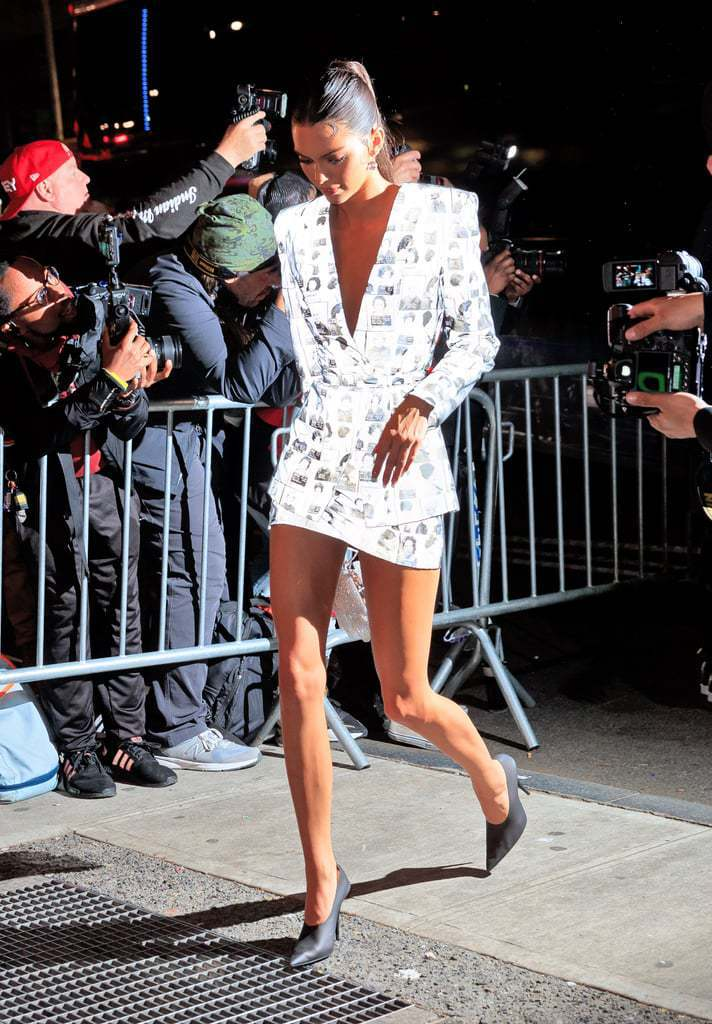 shoes skirt jacket blazer kendall jenner kardashians celebrity mini skirt