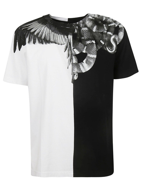 Marcelo Burlon Wings Snake T-shirt in black / white