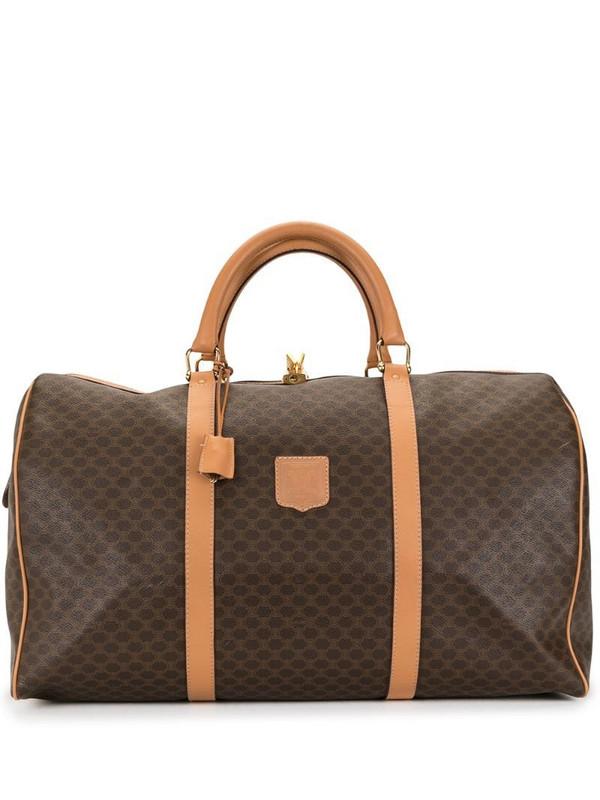 Céline Pre-Owned pre-owned Macadam travel bag in brown