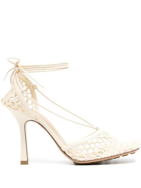 Bottega Veneta Stretch sandals in neutrals