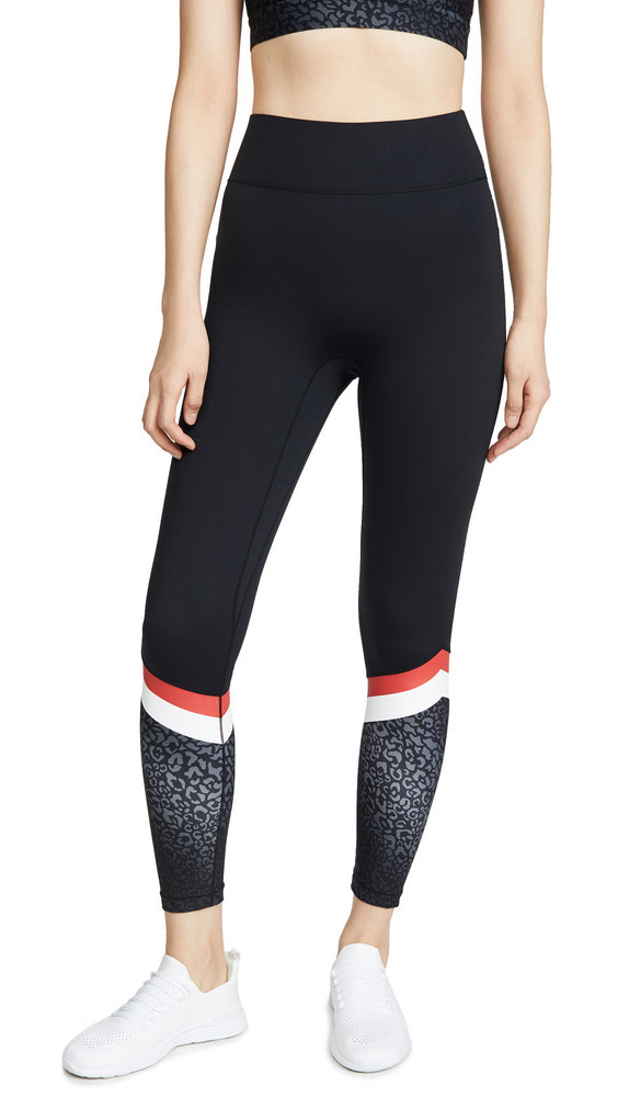 All Access Tour Leggings in black / leopard