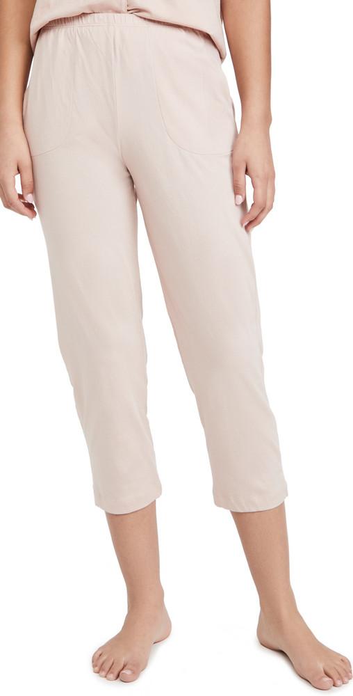 Skin Carlyn Crop Pants in pink