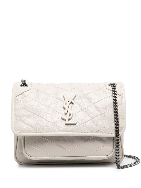 Saint Laurent Niki crossbody bag in neutrals