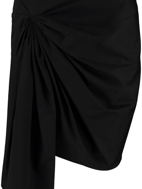 Givenchy Draped Mini Skirt in black