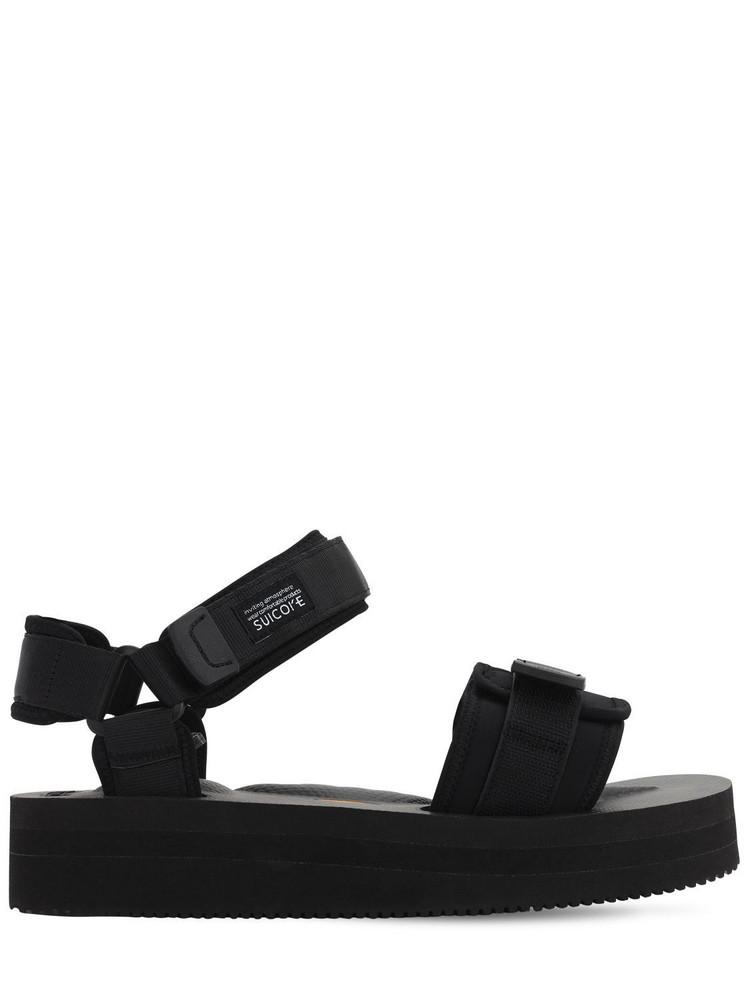 SUICOKE Cel-vpo Sandals in black