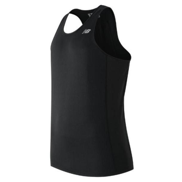 New Balance 61227 Men's NB Ice Singlet - Black (MT61227BK)