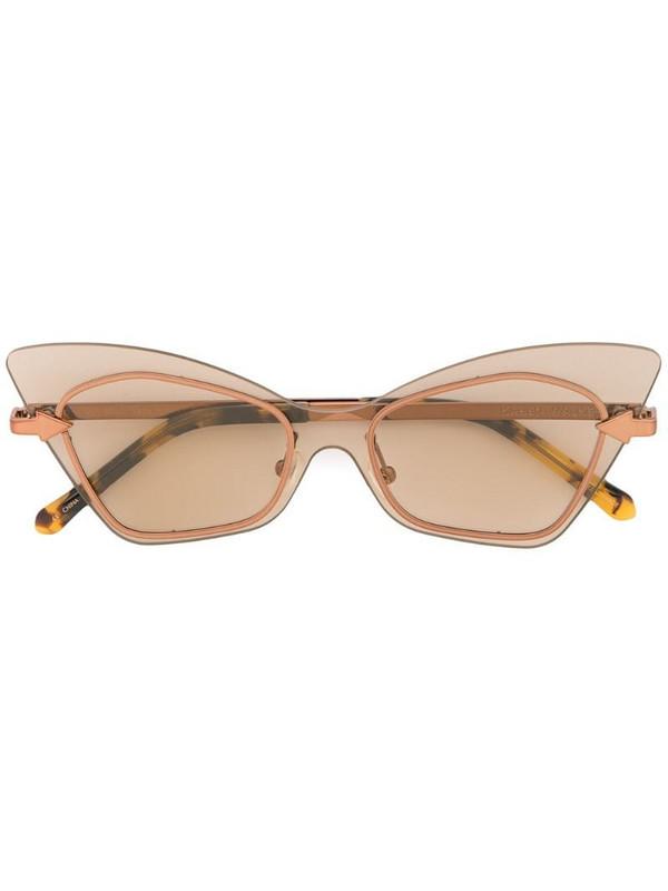 Karen Walker Mrs Brill sunglasses in brown