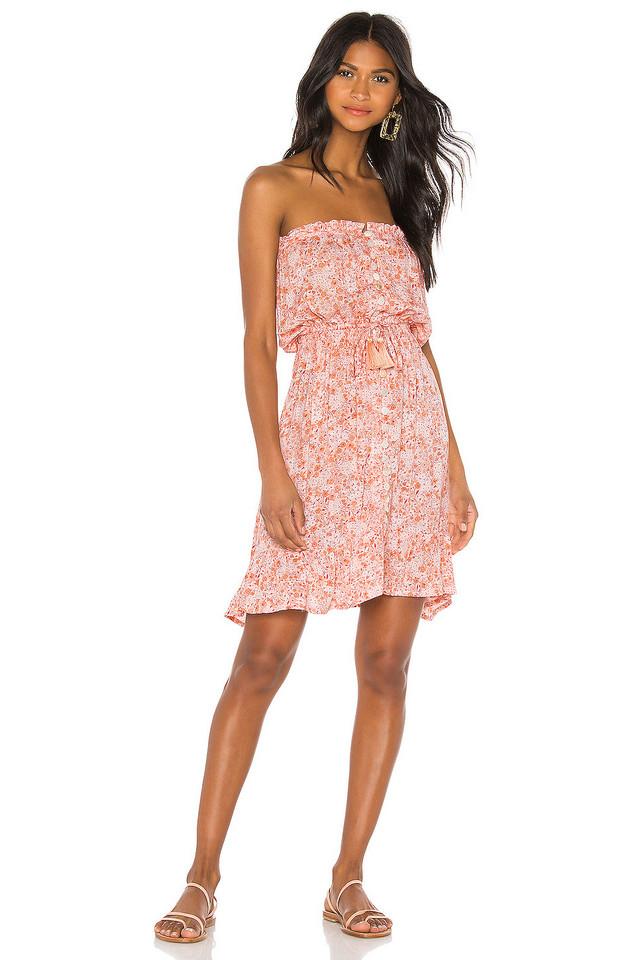 Tiare Hawaii Ryden Mini Dress in pink