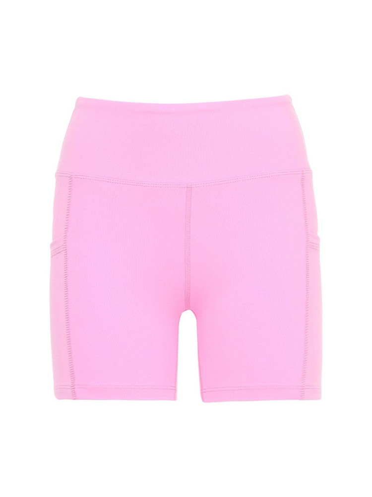 YEAR OF OURS Fitted Tennis Shorts in pink