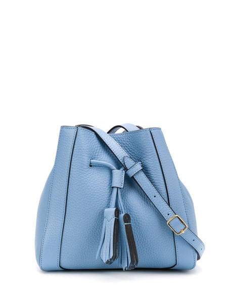 Mulberry small Millie bucket bag in blue