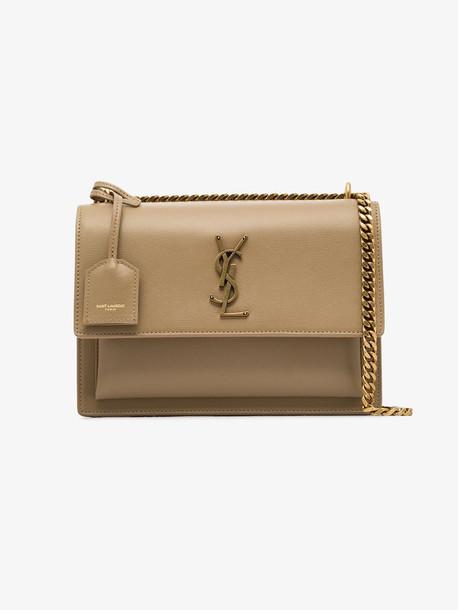 Saint Laurent beige Sunset shoulder bag
