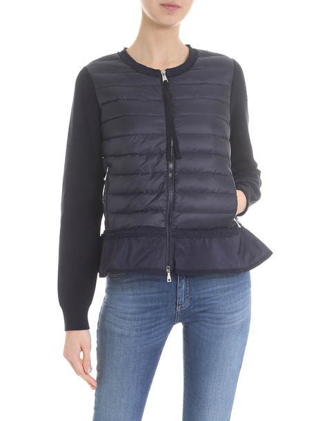 Moncler - Down Jacket/cardigan in blue