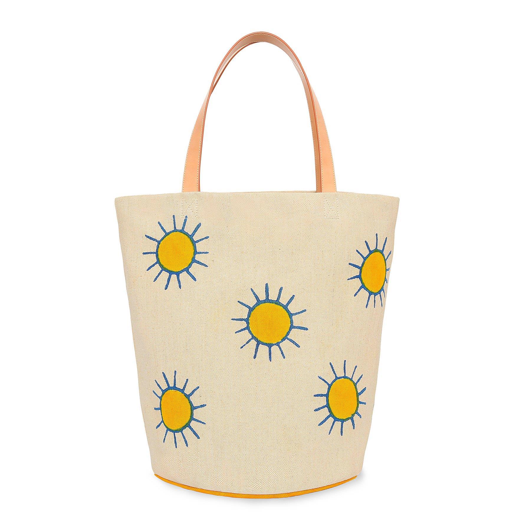 Pascucci Canvas Summer Tote - Sun