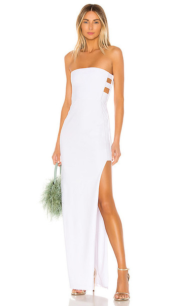 Nookie Flaunt Gown in White