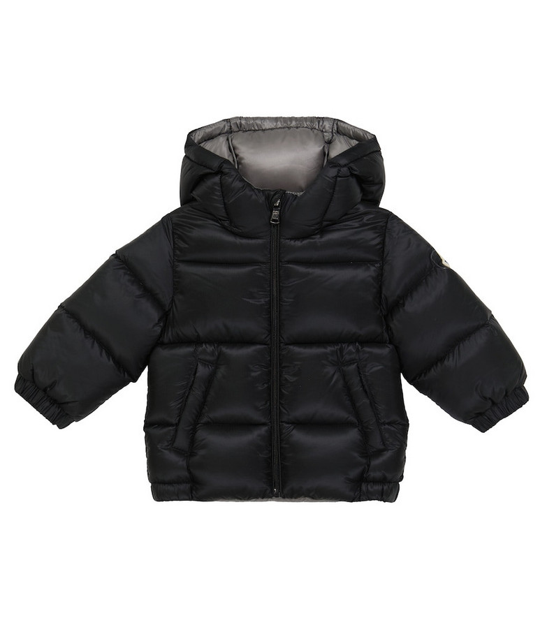 Moncler Enfant Baby New Macaire down coat in black