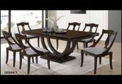 home accessory,dark brown table