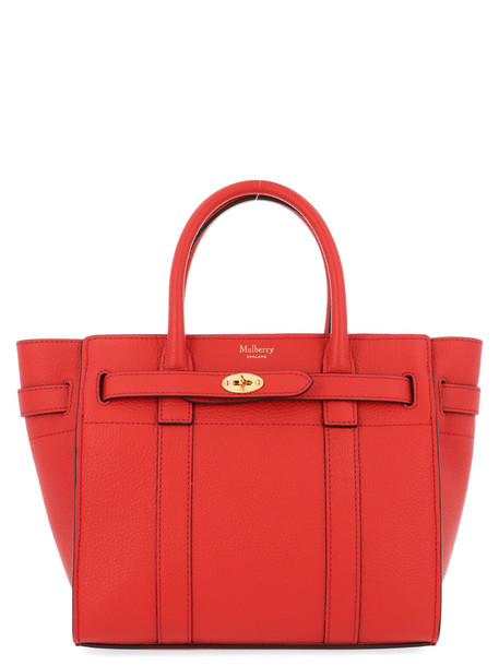 Mulberry 'bayswater' Bag in red