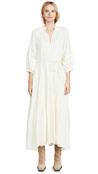 Apiece Apart Trinidad Dress in cream