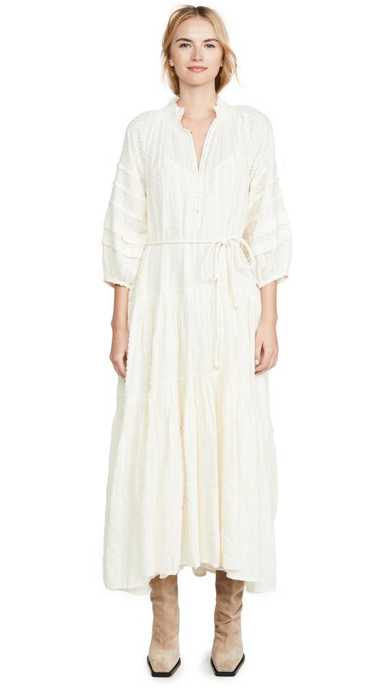 Apiece Apart Trinidad Dress in cream