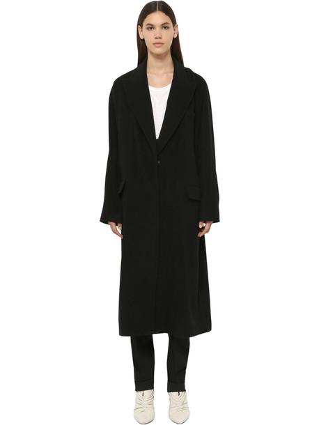 ISABEL MARANT Clerie Wool Blend Coat in black