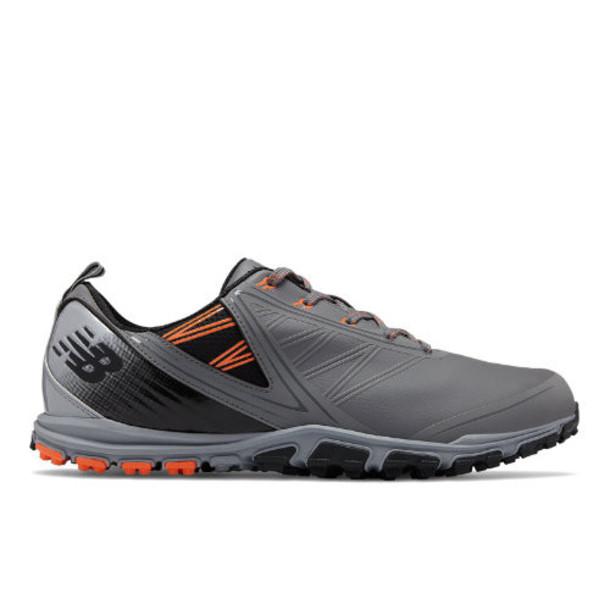New Balance NB Minimus SL Men's Golf Shoes - Grey/Orange/Black (NBG1006GO)