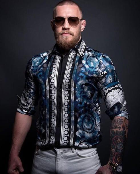 shirt mens shirt conor mcgreggor conor mcgregor