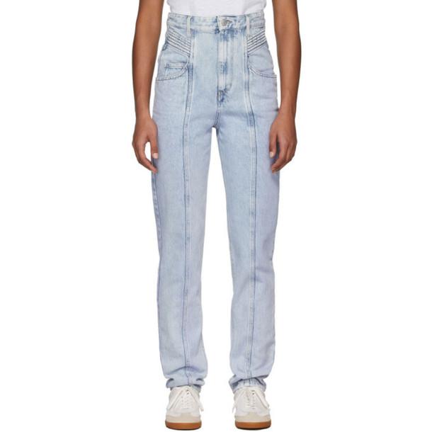 Isabel Marant Etoile Blue Henoya Jeans