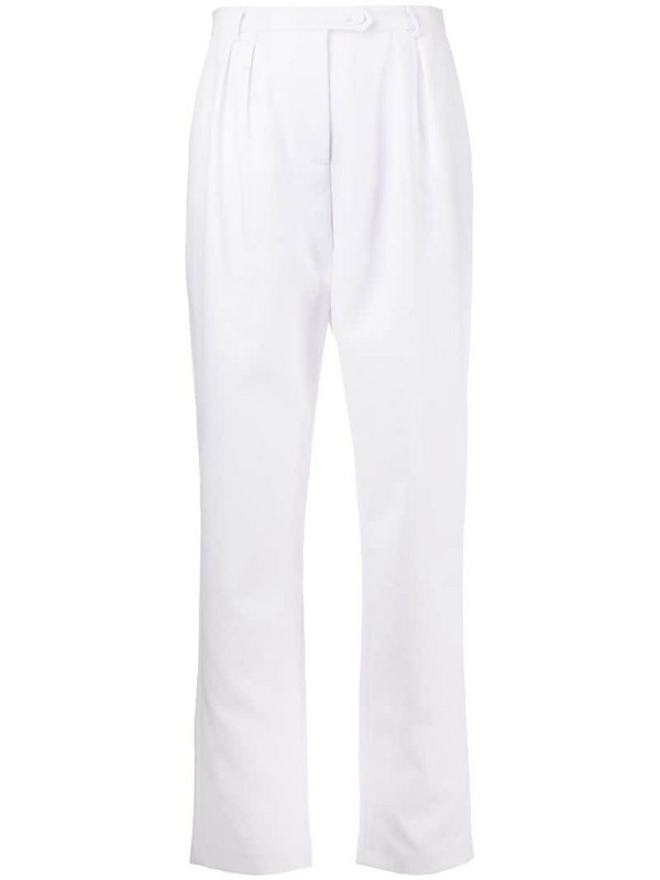 Styland tailored trousers in white