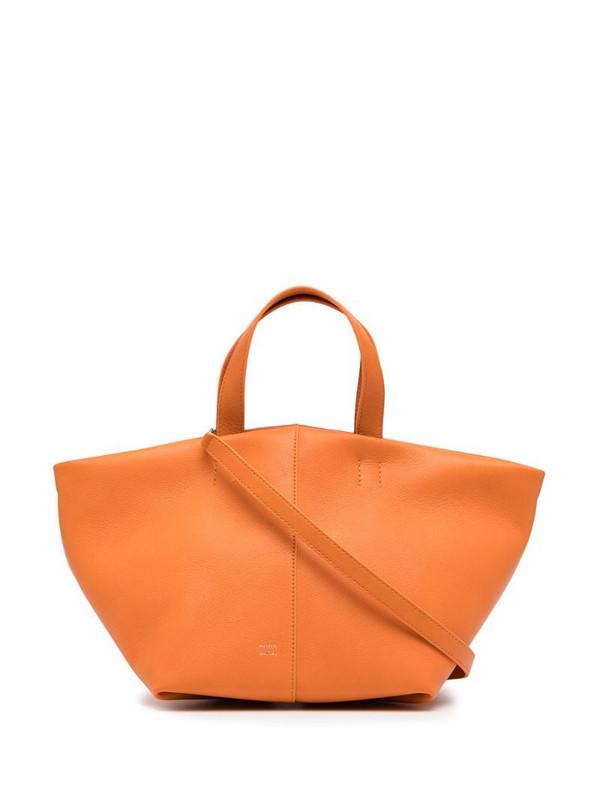 Mansur Gavriel Tulipano tote bag in orange