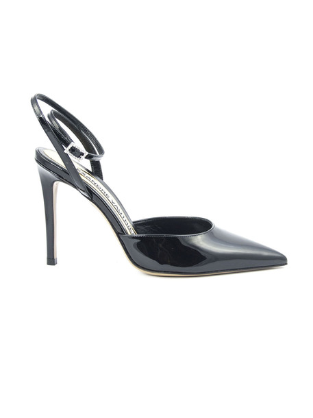 Alexandre Vauthier Pump Carine In Black Patent Leather