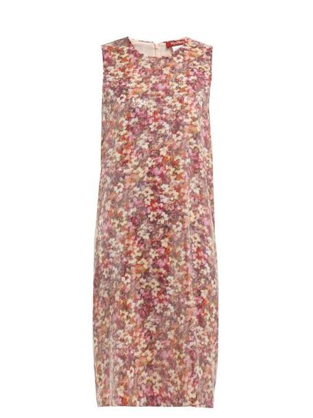 Max Mara Studio - Blocco Dress - Womens - Pink Multi