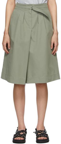 A.P.C. A.P.C. Khaki Caroline Skirt in gray