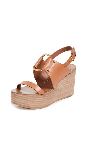 wedges tan shoes