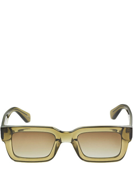 CHIMI 05 Squared Acetate Sunglasses in green