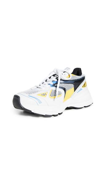Axel Arigato Marathon Sneakers in blue / yellow