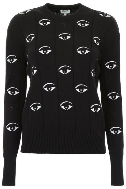 Kenzo Eye Pullover in black