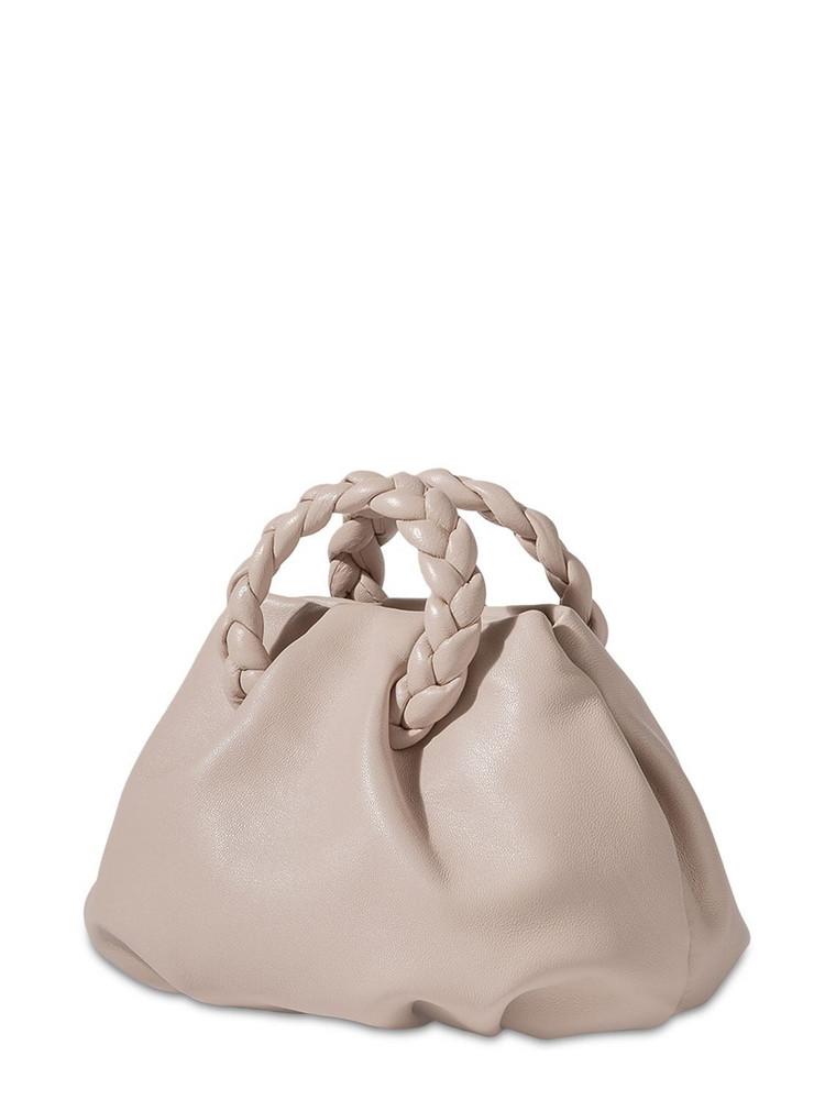 HEREU Mini Bombon Leather Top Handle Bag