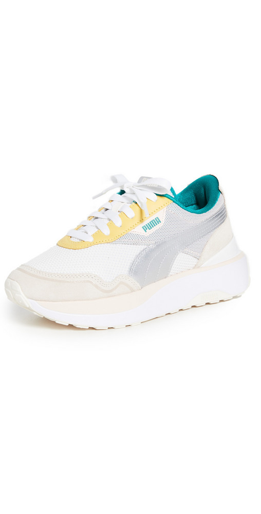 PUMA Cruise Rider Sneakers in pink / silver
