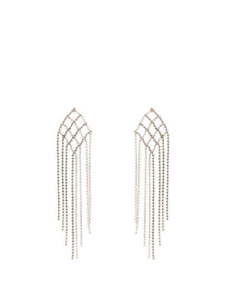 Rosantica By Michela Panero - Oasis Crystal Encrusted Earrings - Womens - Multi