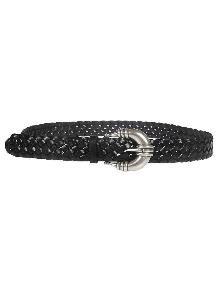 Orciani Woven Belt in black