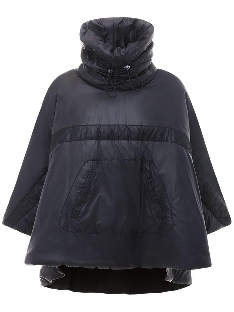 RED VALENTINO Padded Nylon Jacket in black