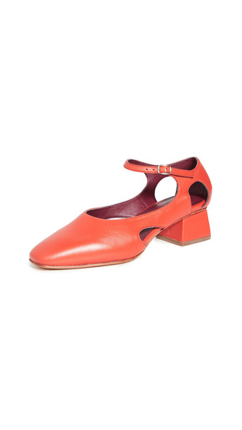 Rachel Comey Appenzell Pumps in red