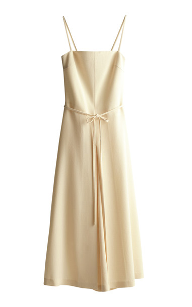 GIA STUDIOS Double String Jumpsuit in neutral