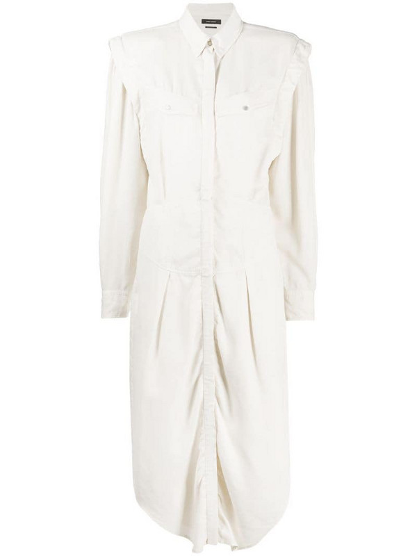 Isabel Marant shirt mid-length dress in neutrals
